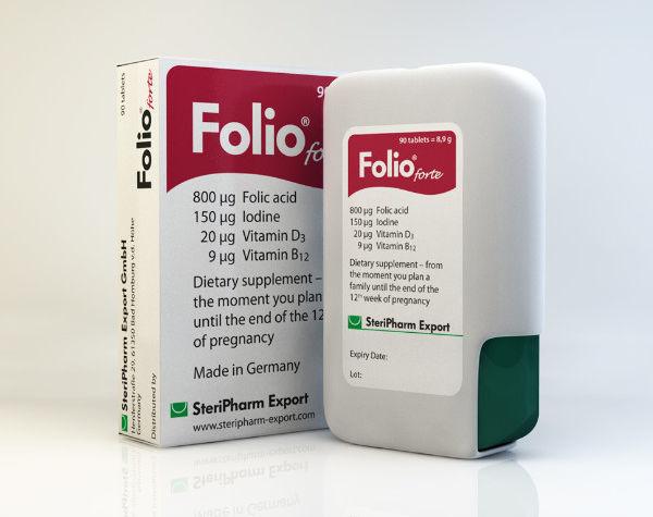Folio Forte von SteriPharm Export